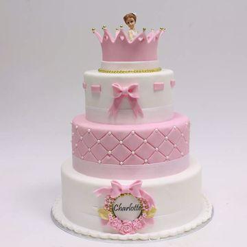 Afbeeldingen van Pink dreams taart