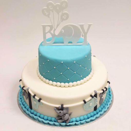 Afbeelding van Its a boy taart