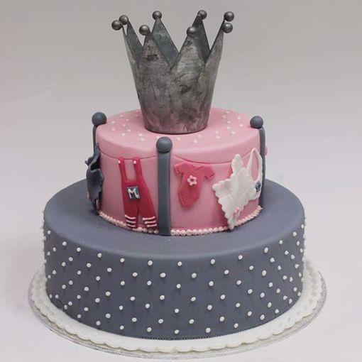 Afbeelding van Grey points taart