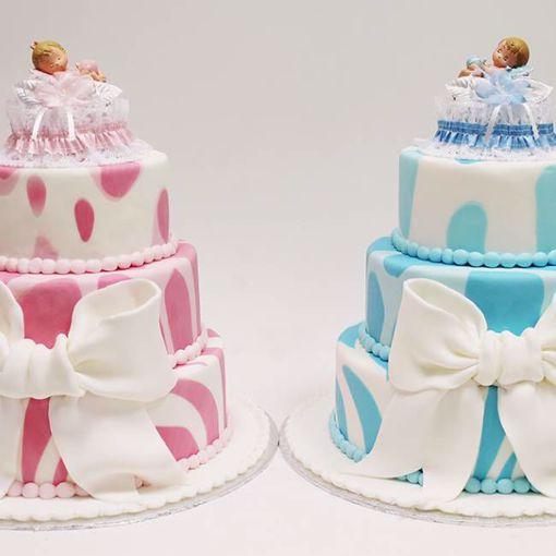 Afbeelding van Prints baby taart