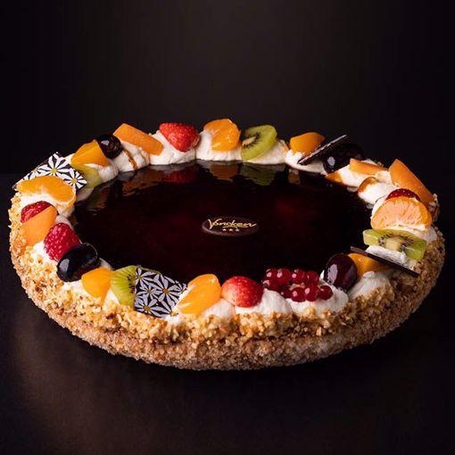 Afbeelding van Appel caramel vlaai