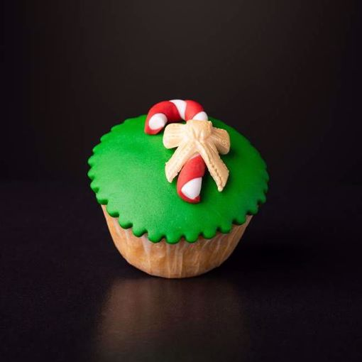 Afbeelding van Kerst muffin zuurstok