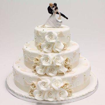 Afbeeldingen van Champagne white taart