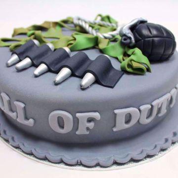Afbeeldingen van Call of Duty taart