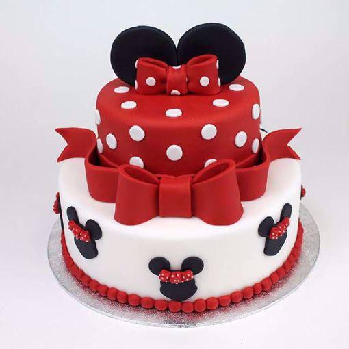 Afbeelding van Disney red taart