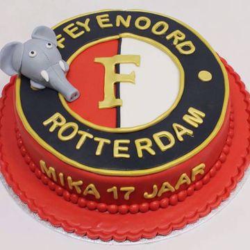 Afbeeldingen van Feyenoord taart