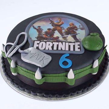 Afbeeldingen van Fortnite basic taart