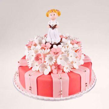 Afbeeldingen van Roze aimee taart