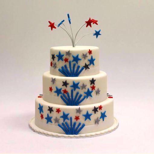 Afbeelding van Vuurwerk taart