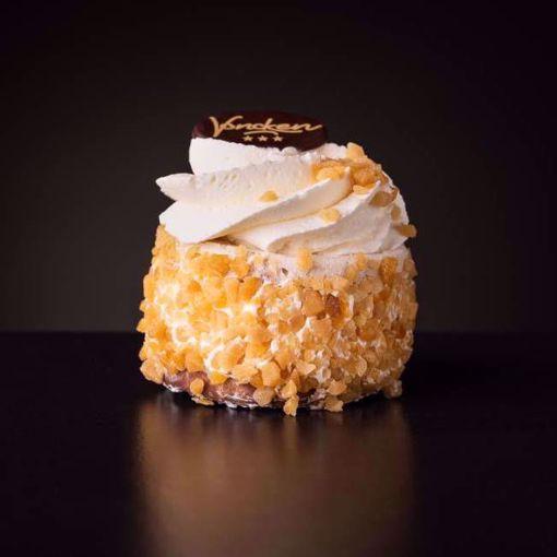 Afbeelding van Nougatine gebakje