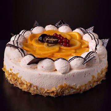 Afbeeldingen van Sinaasappel bavaroise taart
