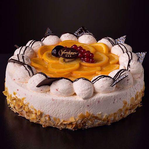 Afbeelding van Sinaasappel bavaroise taart