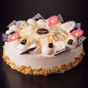Afbeeldingen van Vanille creme taart