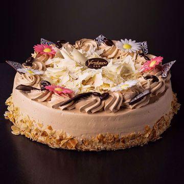 Afbeeldingen van Mocca creme taart