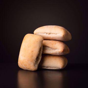 Afbeeldingen van 10 x halfafgebakken ciabatta broodjes