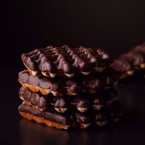 Afbeelding van Chocolade cake wafels