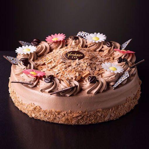 Afbeelding van Chocolade slagroom taart