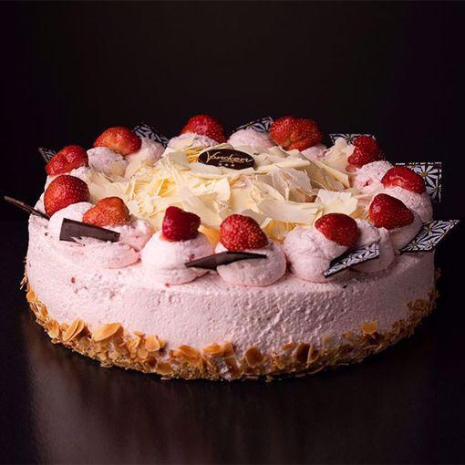 Afbeelding van Aardbeien bavaroise taart