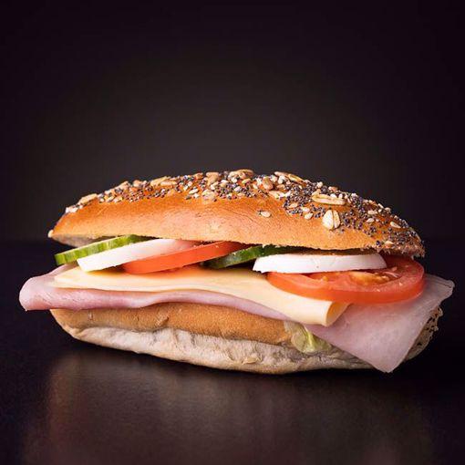 Afbeelding van Belegd broodje gezond dubbelop