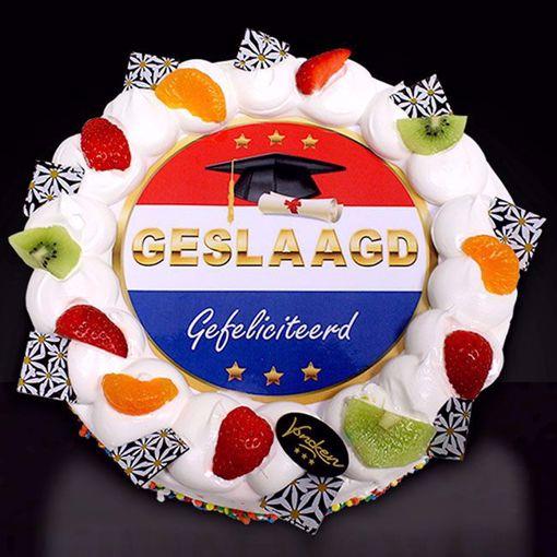 Afbeelding van Geslaagde taart