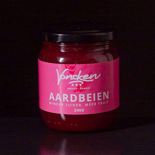 Afbeelding van Voncken Aardbeien Jam