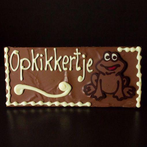 """Afbeelding van Choco tablet """"Opkikkertje"""""""