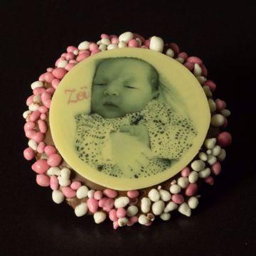 Afbeeldingen van Choco Geboorte Flikken (20 stuks)
