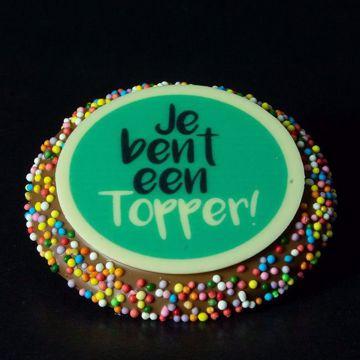 """Afbeeldingen van Chocolade DvdV """"Topper"""""""
