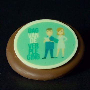 """Afbeeldingen van Chocolade DvdV """"Logo"""""""
