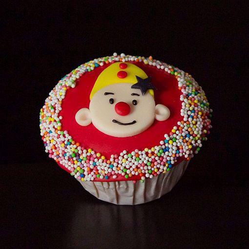 Afbeelding van Bumba muffin met gezichtje
