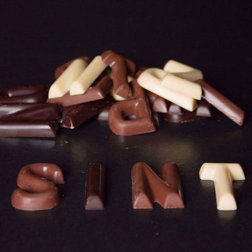 Afbeelding van Chocolade Lettertjes
