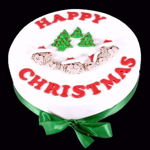 Afbeelding van Kerst Happy Christmas Taart