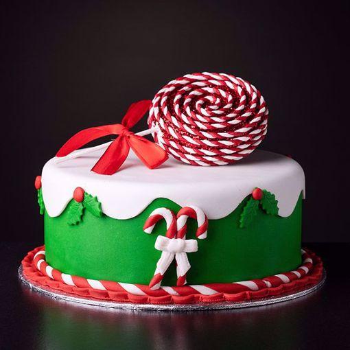 Afbeelding van Kersttaart Lollie