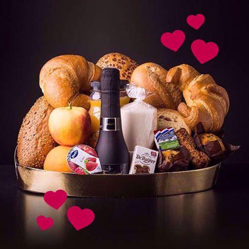 Afbeelding van Valentijn champagne ontbijt