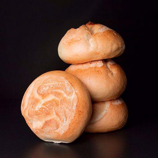 Afbeelding van 4 Rozen broodjes