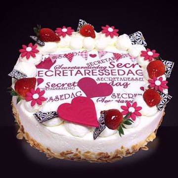 Afbeeldingen van Secretaressedag taart
