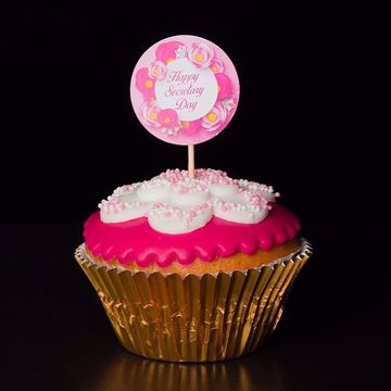 Afbeeldingen van Secretaresse dag cupcake