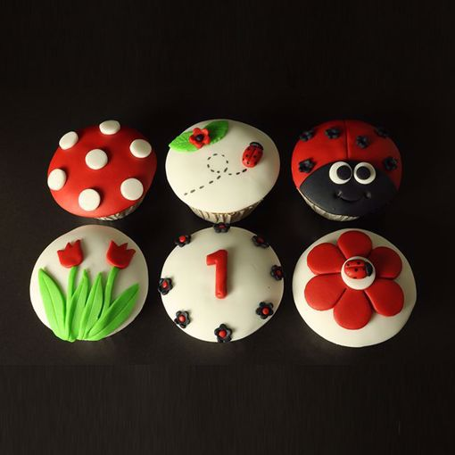 Afbeelding van Muffins happy Spring (6x2)