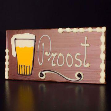 Afbeeldingen van Vaderdag Chocolade Bier Reep